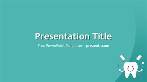dental powerpoint themes free dental care powerpoint template for download prezentr