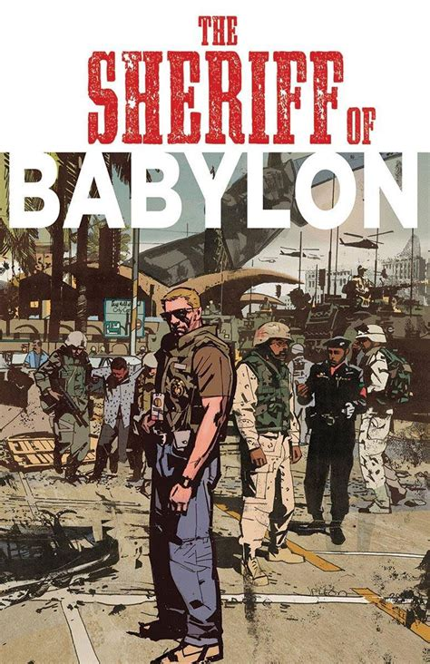 the sheriff of babylon new from the punisher artist mitch gerads comes the sheriff of babylon its tactical