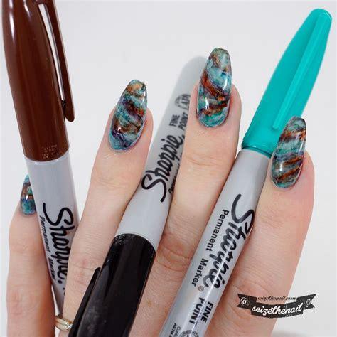 nail art needle pen tutorial 25 best ideas about sharpie nail art on pinterest