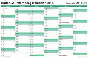 Kalender 2018 Feiertage Baden Württemberg Kalender 2018 Baden W 252 Rttemberg