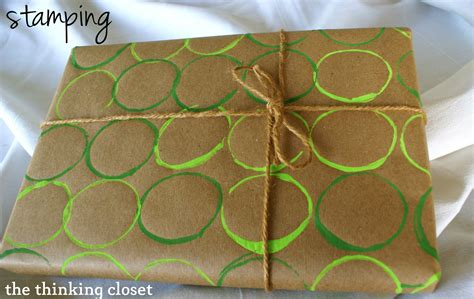 Wrapping Paper Craft Ideas - diy wrapping paper tutorial the thinking closet sugar