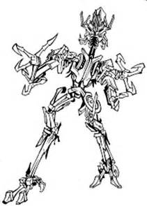 Transformers  Frenzy From Coloring Page sketch template