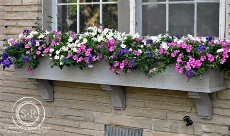 window flower box serendipity refined how to build a diy rustic cedar