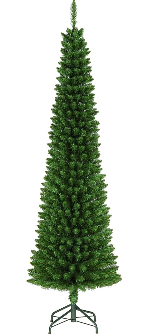 green pencil 195cm 6 5ft space saving christmas tree 163