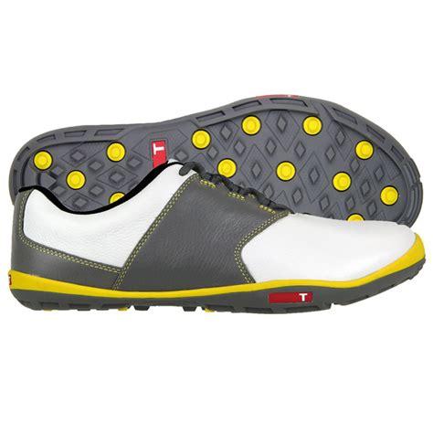 true golf shoes true linkswear true tour golf shoes white yellow