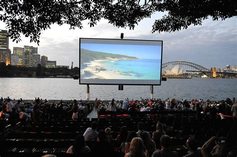 Open Air Cinema Botanical Gardens Sydney Social St George Openair Cinema Launches The 2014 Season In Spectacular Style With The