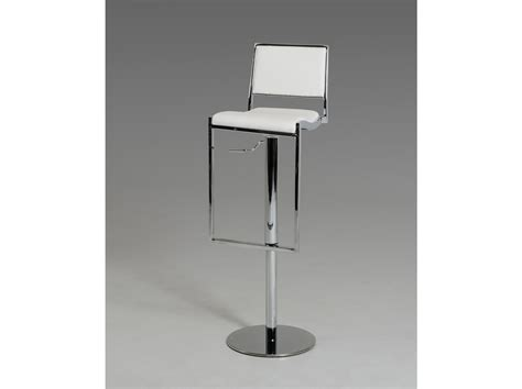 white modern stools 5033b modern white bar stool las vegas furniture store