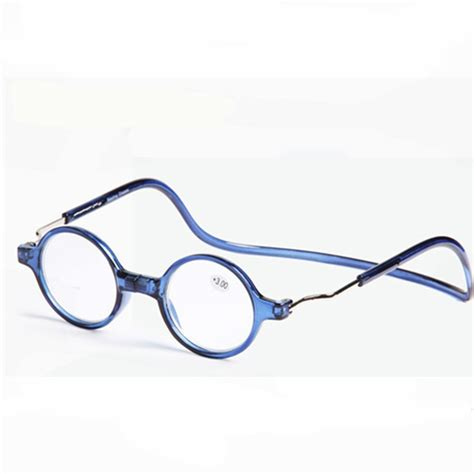 upgraded unisex magnet reading glasses colorful