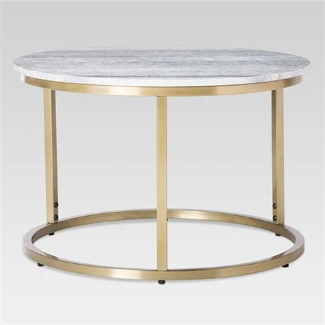 marble coffee table target marble top coffee table threshold target
