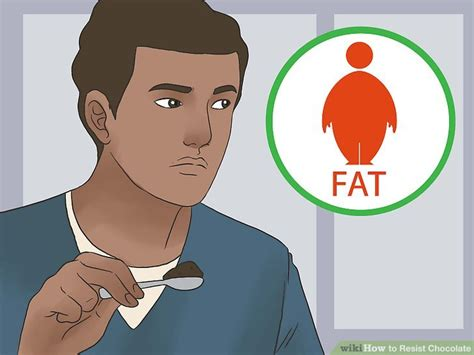 can you give a chocolate 3 ways to resist chocolate wikihow