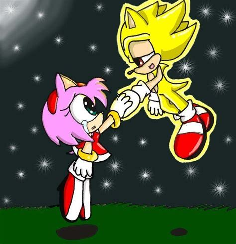 supersonic x amy amy rose is my love images sonicxamy wallpaper and