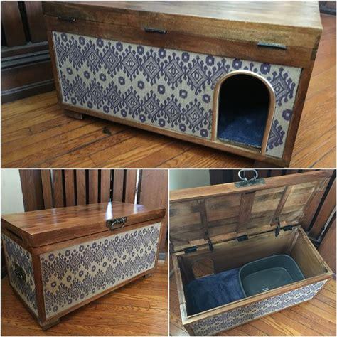 petco litter box ottoman cat litterbox furniture cutest way to hide cat