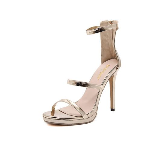 gold strappy sandal heels gold strappy stiletto heel sandals
