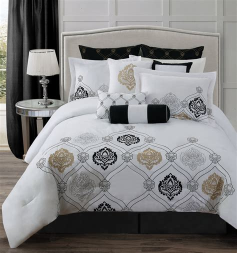white and gold comforter white and gold white and gold bedding set queen