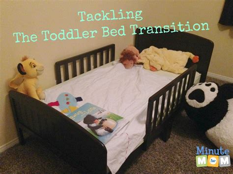 transition to toddler bed tackling the toddler bed transition minute for mom