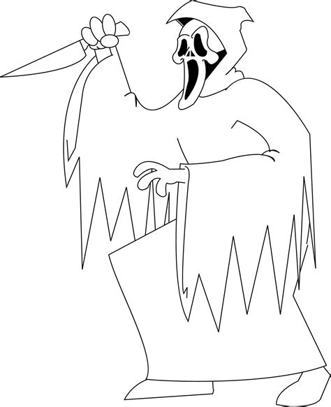 Free Coloring Pages Michael Myers Coloring Pages