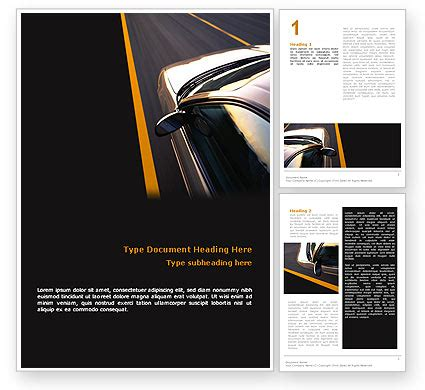 car templates for adobe illustrator car on highway letterhead template layout for microsoft
