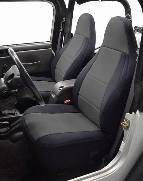 Jeep Wrangler Tj Seat Covers All Things Jeep Neoprene Front Seat Covers For Jeep