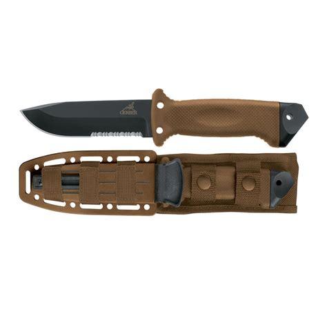 gerber infantry survival knife gerber lmf ii infantry knife coyote brown