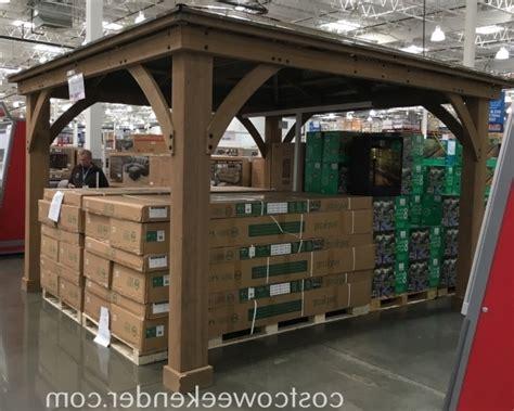 12x12 cedar gazebo with aluminum roof pergola gazebo ideas