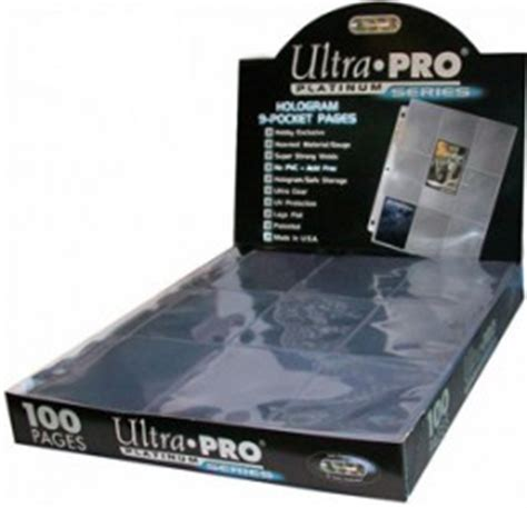 Ultra Pro 4 Pocket Platinum Card Page 3 1 2 X 5 Pockets 3r Kartu trading card pages a comprehensive guide to picking the page