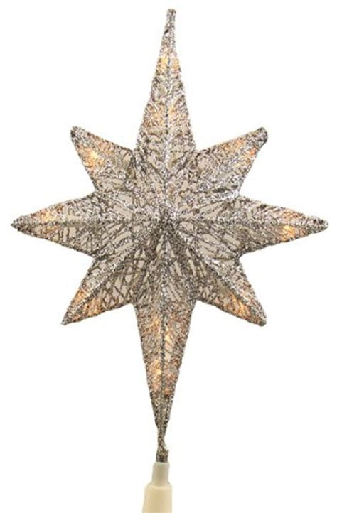 small lighted star tree topper unique lighted christmas star tree toppers ideas a