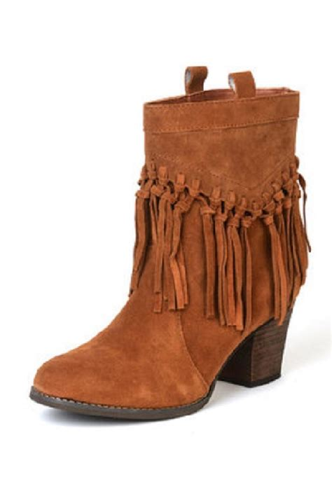 fringe booties sbicca fringe bootie from oklahoma by country lace