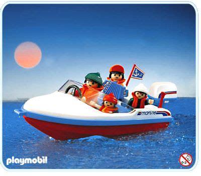 playmobil boat playmobil set 3142 motorboat klickypedia