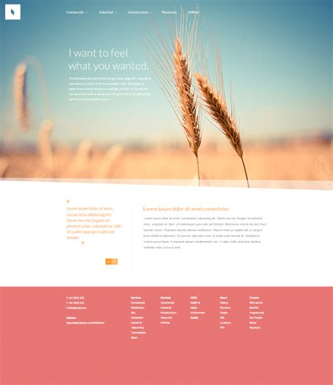 free templates organic free website psd template