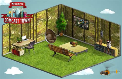 realistic home design games online create a virtual room in comcast town and win a real