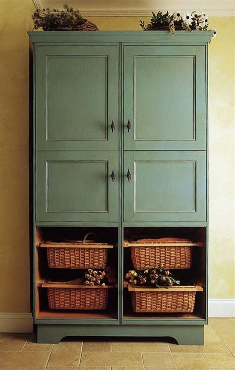 tv armoire  pantry cabinet potato onion boxes