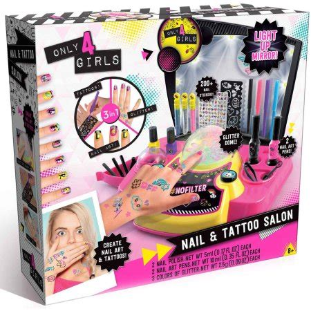 tattoo maker toys r us only 4 girls nail and tattoo bar walmart com