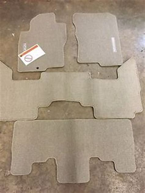 2007 Nissan Pathfinder Floor Mats by New 2005 2008 Nissan Pathfinder Carpet Floor Mats Beige