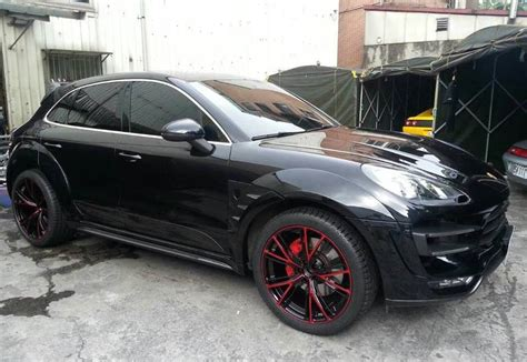 porsche macan all black gallery topcar porsche macan ursa in black