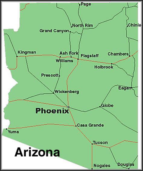 a map of arizona cities free printable maps map of arizona cities printfree
