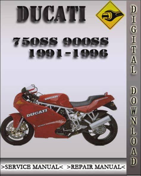 1991 1996 Ducati 750ss 900ss Factory Service Repair Manual