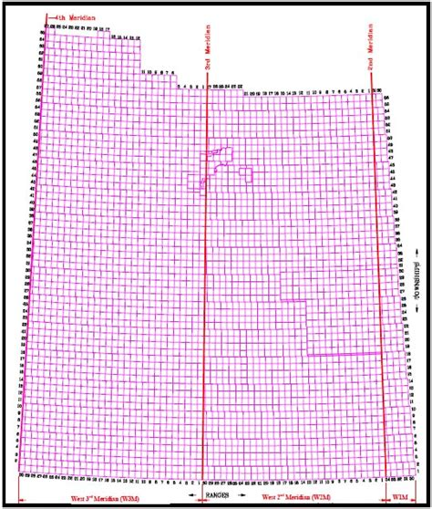section township range to lat long isc land descriptions and where they come from