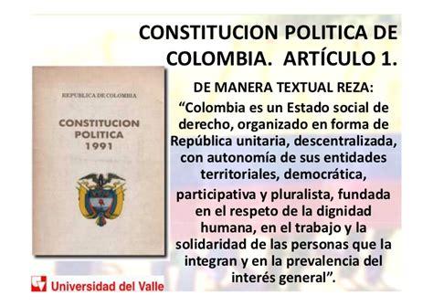 articulo 43 de la constitucion politica de colombia presentacion estado social de derecho en colombia