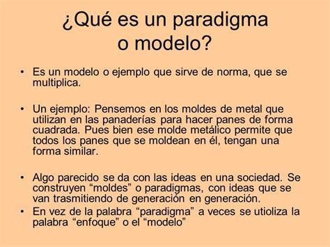 Que Es Modelo Curricular Definicion 7 Ejemplos De Paradigmas Y Definici 243 N Yavendr 225 S