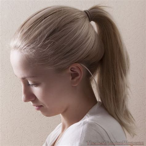 Ponytail Hairstyles by Ponytails Thebestfashionblog
