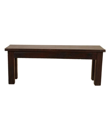 sheesham wood bench sheesham wood charismatic bench buy online at best price
