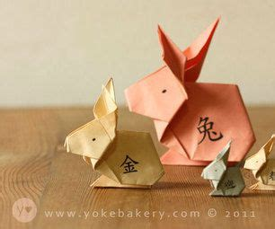 new year origami rabbit 32 best origami rabbit images on oragami