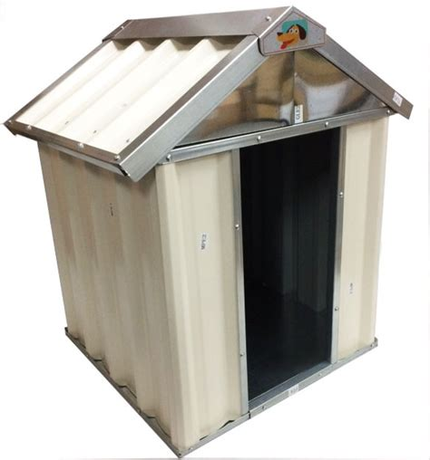 metal dog house vebo outdoor metal dog kennel house small 60cm