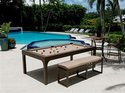 pool bench the balcony outdoor pool table robbies billiards