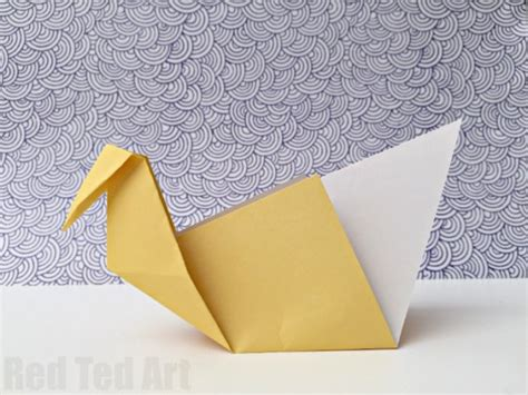Easy Swan Origami - easy origami swan a great intro to origami ted