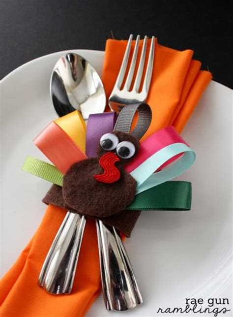 turkey inspired decorations  crafts  thanksgiving home
