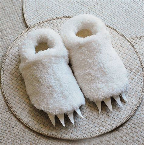 wolf slippers adults size wolf slippers inspired by from babycricket on etsy