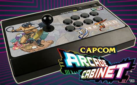 win a capcom arcade cabinet arcade stick from capcom