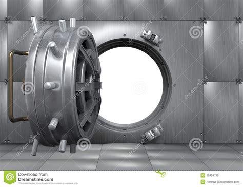 open bank vault door stock illustration image 39454715