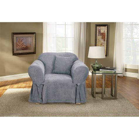 sure fit soft suede chair slipcover reviews wayfair